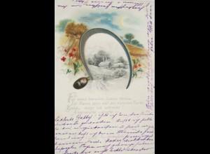 """""""Berge, Fluss, Wald, Edelweiß"""" 1898 ♥"""