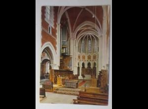 Abtei Marienstatt Zisterzienser Altar mit Orgel Westerwald 1973 ♥ (72695)