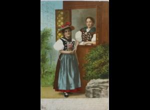 """"""" Frauen, Trachten"""" 1906, Serie AE. 154 ♥ (1428)"""