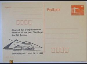 Eisenbahn Dampr-Lokomotive Plandienst BW Bautzen (11822)