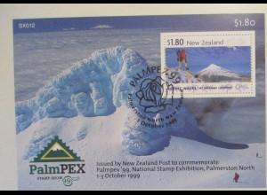 Neuseeland Block 97 Palmpex gestempelt (22757)