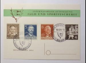 Jagd und Sportfischerei Bund/Berlin 1954 ♥ (57760)