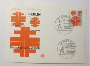 Deutsches Turnfest Berlin 1968 ♥ (57772)