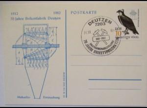 Deutzen Industrie 70 Jahre Brikett - Fabrik (57586)
