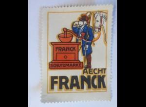 Reklamemarken, Aecht Franck Kaffee 1910 ♥ (62256)
