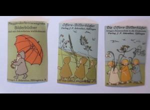 3. Reklamemarken,Sybille v. Olfers Bilderbücher J.F. Schreiber 1910♥(15587)