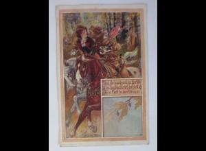 Bund der Deutschen in Nieder-Österreich, Jäger, Nr.75, 1921 ♥