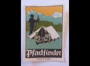 Reklamemarken, Pfadfinder Stuttgart 1910 ♥ (53929)