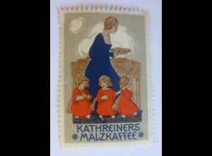 Reklamemarken, Kathreiners Malzkaffee 1910 ♥ (35969)