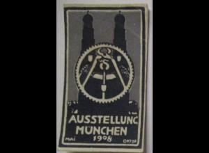 Reklamemarke Ausstellung München 1908 (941)
