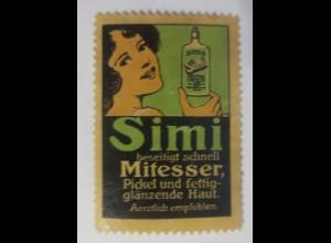Reklamemarken Simi Beseitigt Mitesser 1900 ♥ (80145)
