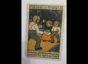 Reklamemarken Hänsel & Gretel 1900 ♥ (25406)