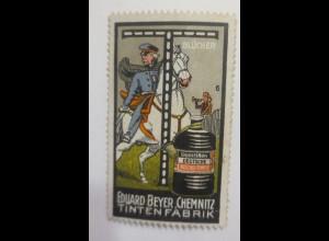 Reklamemarken Blücher Eduard Beyer. Chemnitz Tintenfabrik 1900 ♥ (71029)