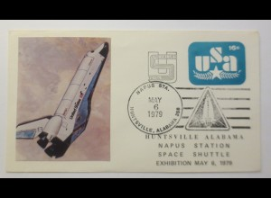 Weltraum USA Space Shuttle Napus Station 1979 ♥ (49708)