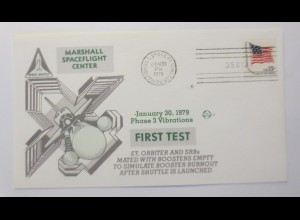 Weltraum USA Space Shuttle Marshall Space Flight Center First Test 1979 ♥(54221)