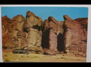 Israel König Salomon´s Schatzkammer bei Eilat 1972 (28709)