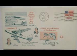 Raumfahrt USA NASA Drop Flight Test 1977 Fulton und Mallick (35535)