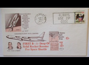 Weltraum USA NASA Space Shuttle First B-52 Drop of 1977 (55375)
