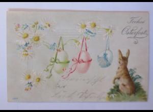 """""""Ostern, Hase, Ostereier, Blumen"""" 1900 ♥ (63040)"""