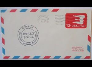 Weltraum USA NASA Apollo Soyuz Ramstein Recovery Control Center (570)