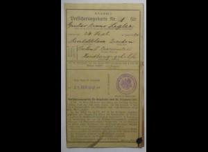 Karte Papierfabrik Krause und Zerkall in Berlin 1890 (44096)
