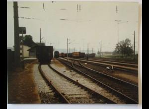 Summerau Bahnhof, original Foto 1978 (26383)