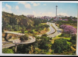 Südafrika Johannesburg Straße Autobahn 1975 (28652)