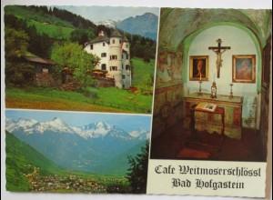 Bad Hofgastein, Cafe Weitmoserschlössl (19125)