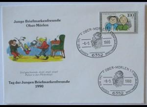 Wilhelm Busch Max und Moritz 1990, Pulver in den Pfeifenkopf (69231)
