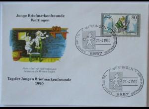 Wilhelm Busch Max und Moritz 1990, Brezeln stehlen (6180)