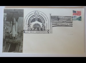 Weltraum USA NASA Space Shuttle Station Indianapolis 1989 ♥ (7628)