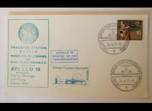 Weltraum USA Apollo 16. Tracking Station Berlin 1971 ♥ (63210)