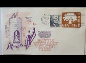 Raumfahrt USA NASA Space Shuttle Enterprise Vibration test 1978 (21567)