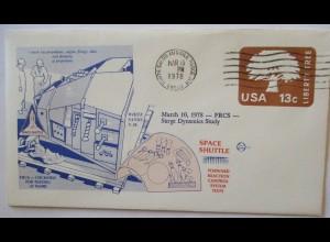 Raumfahrt USA NASA Space Shuttle Reaction Control System Test 1978 (24252)