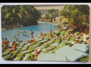 Mexico Acapulco Hotel Hilton Pool 1973 (64979)