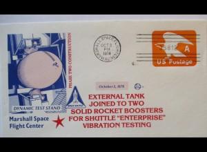 Raumfahrt USA NASA Space Shuttle External Tank Vibration Test 1978 (19816)