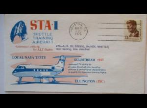 Raumfahrt USA NASA Space Shuttle Training Aircraft Gulfstream 947 (7152)