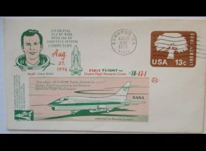 Raumfahrt USA Space Shuttle F 8 Pilot Gary Krier 1976 (22771)