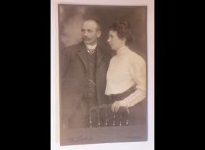 CDV, Foto Frauen, Männer, Frz. Backmund Atelier Trankonia Würzburg 1900 ♥(60597)
