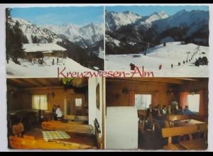 Zell am Ziller Kreuzwiesen Alm Berghütte 1983 (27943)