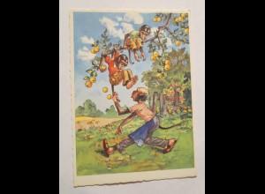 """""""Affen, Apfelbaum"""" 1950 ♥"""