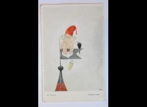 Engel, Amor, Rabe, Auf der Lauer, 1918, Jos. Mauder ♥ (46845)