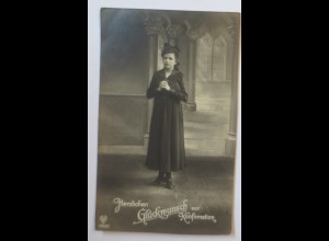 Konfirmation, Kinder, Bibel, Kirche, 1910 ♥ (38955)