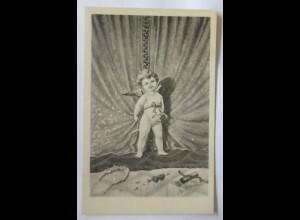 Engel, Amor, Amors Pfeil, 1900, E. Schiendl ♥ (26979)