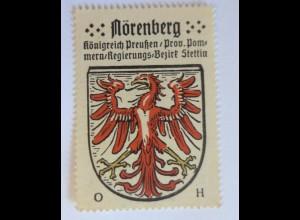 Reklamemarke, Wappen von Nörenberg Königreich-Preußen ♥ (3360)
