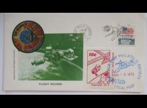 Raumfahrt USA, Skylab I, Kennedy Space Center 1973 Space Port Local Post (24686)