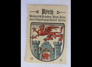 Reklamemarke-Kaffee Hag, Wappen von Dyritz, Königreich Preußen 1910 ♥ (34124)