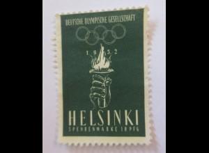 Deutsche Olympische Gesellschaft 1952 Helsinki ♥ (63459)