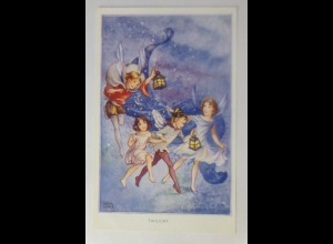 Elfen, Feen, Fairies Serie, Laternen, Twilight, 1940, Rene Cloke ♥ (51597)