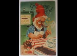 Neujahr, Zwerge, Reklame, Zigarren, Feuerwerk, 1908 ♥ (46502)